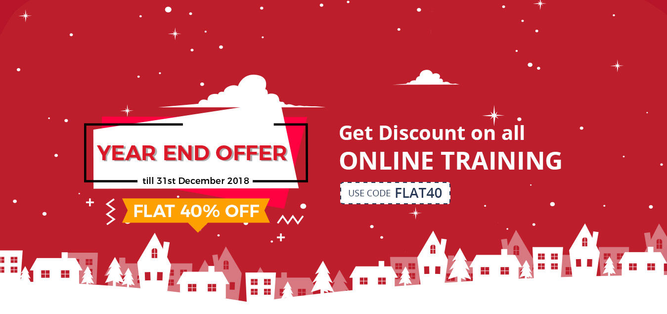 Attune offering FLAT 40% OFF on Online Training on Year End 2018