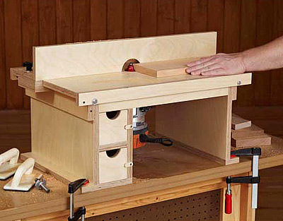 Look Free Router Table Plans