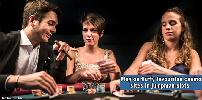 Play on fluffy favourites casino sites in jumpman slots by Delicious Slots