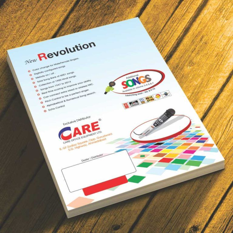 Brochure Printing at Best Price in Ahmedabad