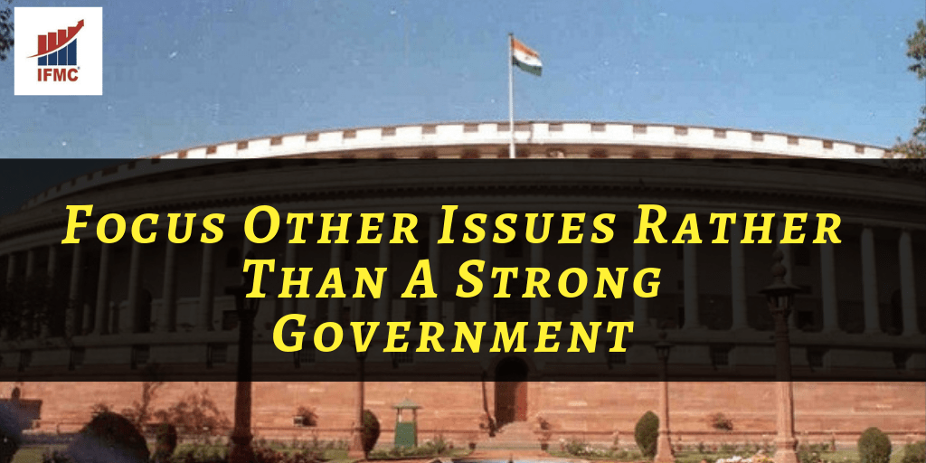 Indian Stock Market Issues of Strong Government | IFMC Institute