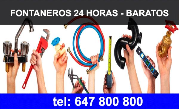 Fontaneros Almeria 24 horas 【 647 800 800 】 BARATOS