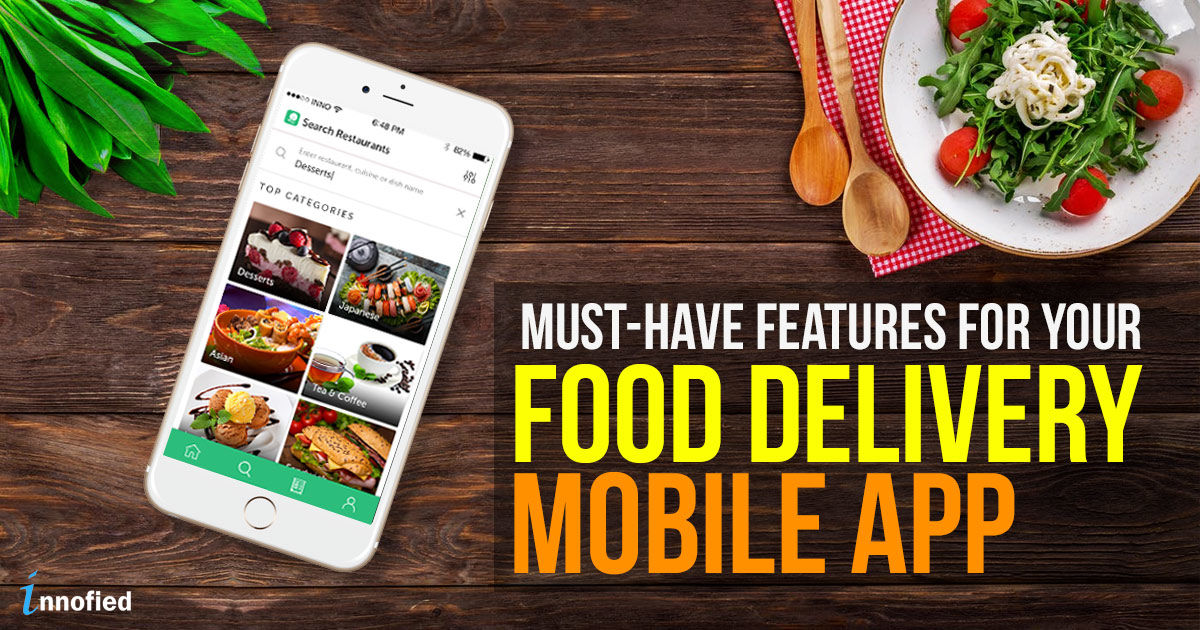 Top Restaurant Mobile App Features To Rock Your Food Delivery