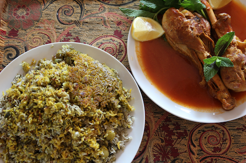 Food Friday Series: Lima Dill Rice