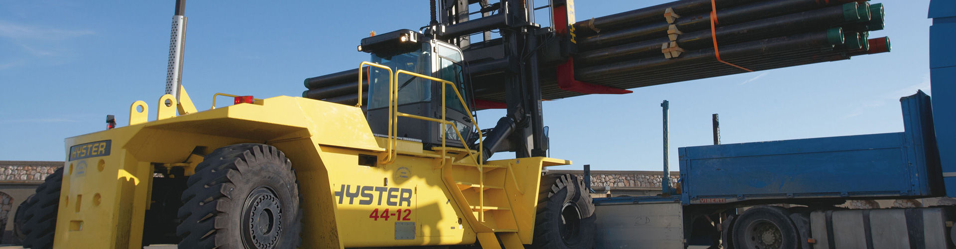 Hyster Forklift Trucks India | Container Handler in India | TIL Limited