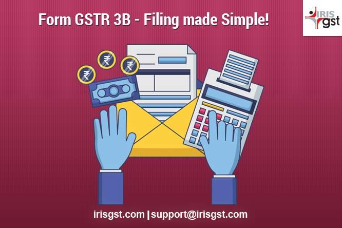 Form GSTR 3B - Filing made Simple! | How to file GSTR 3B