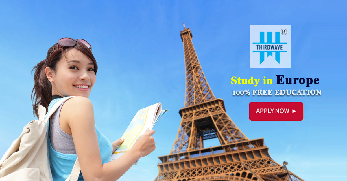 Free Education-100% Scholarship in Europe - Thirdwave Overseas Education