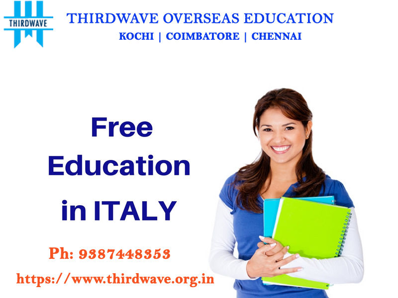 Free Education In Italy - 100% Scholarship - Thirdwave Overseas Education