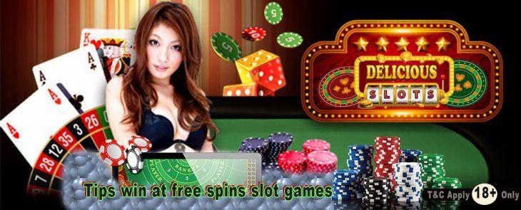 Tips win at free spins slot games