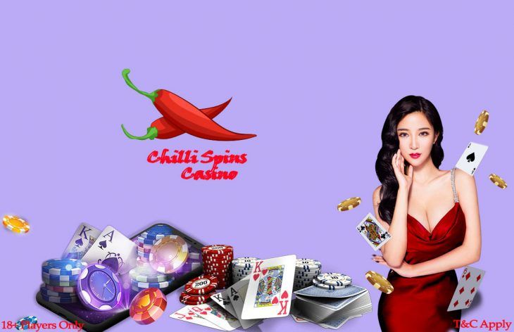 Standard online casino gambling with chilli spins offers