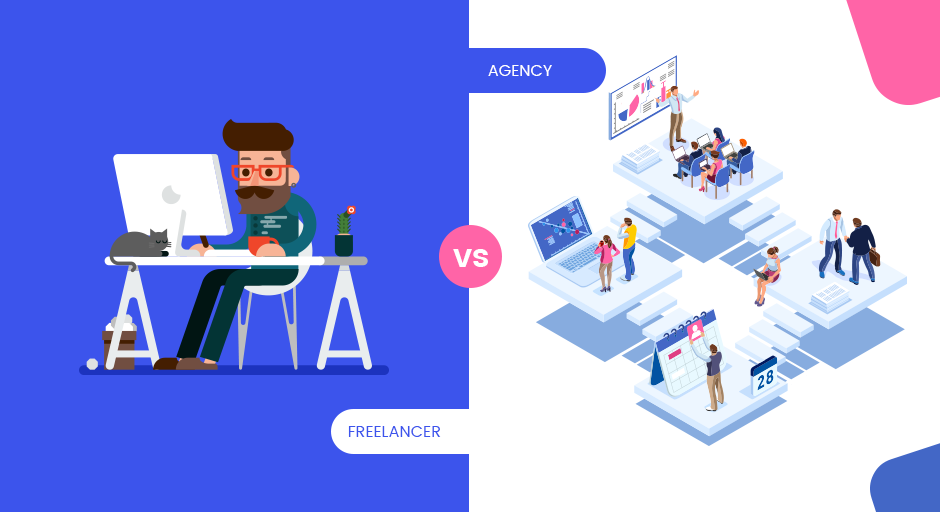 Should I hire a freelancer or an agency? – iWEBSERVICES