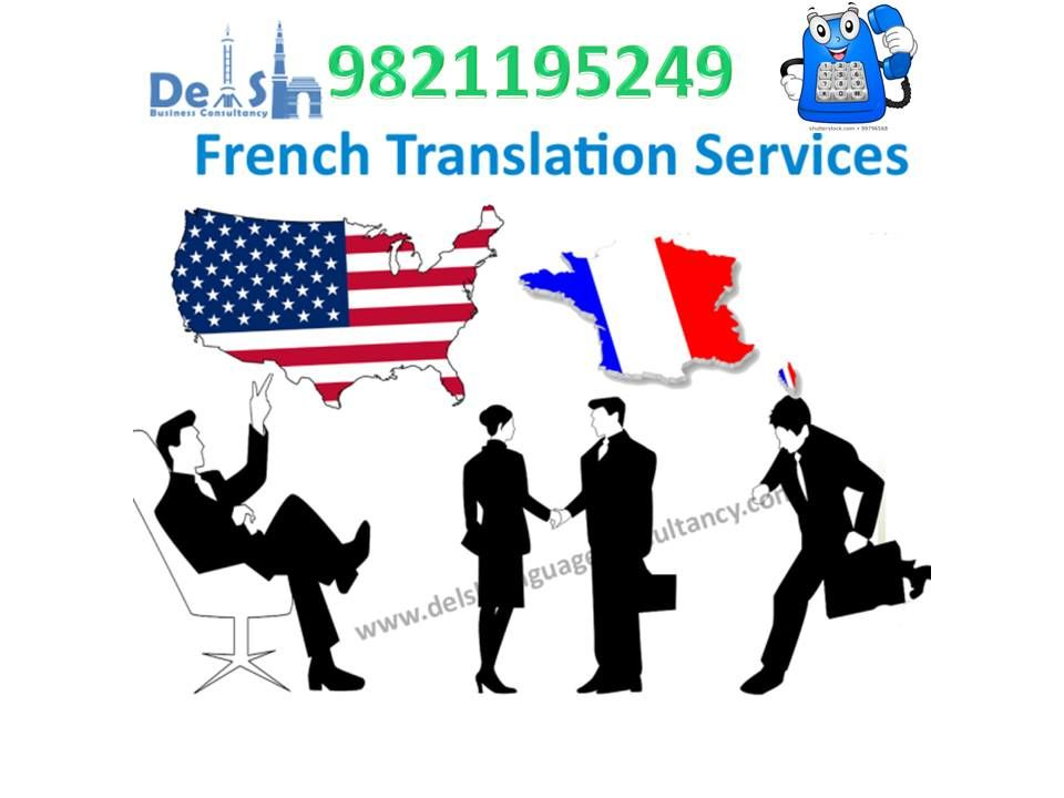 French Translation Agency in Delhi - Call Today 9999933921