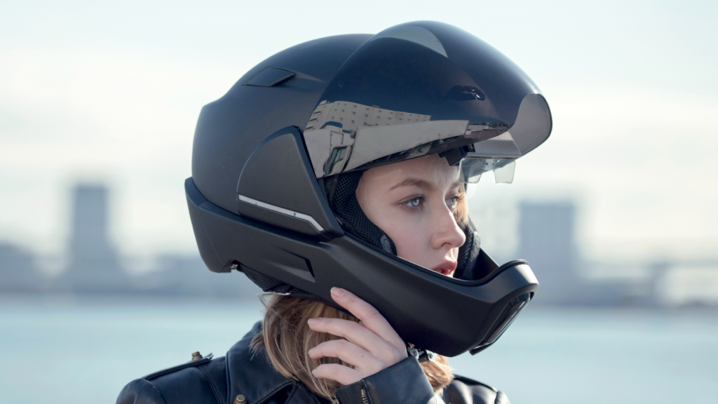 Motorcycle Helmet With Bluetooth Built In