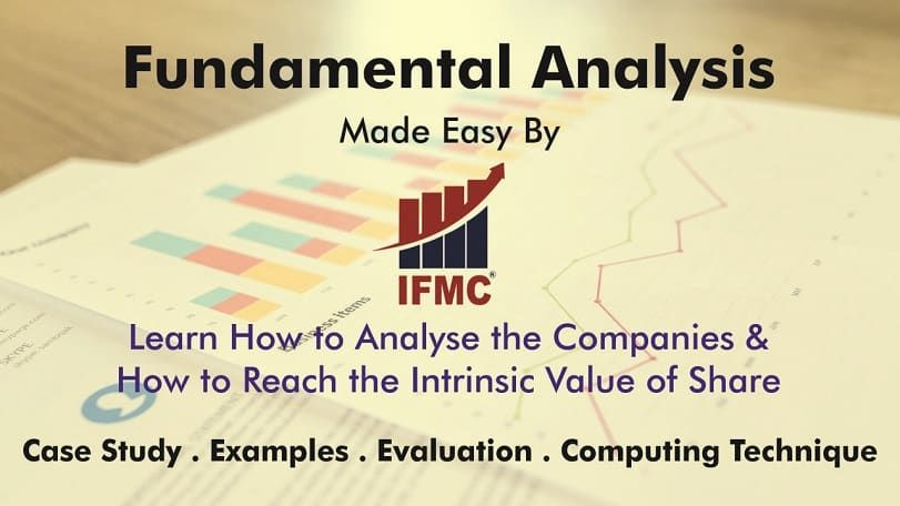 IFMC-Learn Fundamental Analysis of Stocks Online in Delhi, NSE & NISM Stock Market Specialization Training