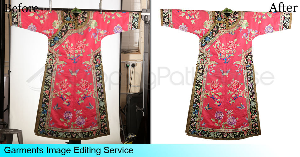 Clipping Path, Neck Joint service or Ghost Mannequin Effect