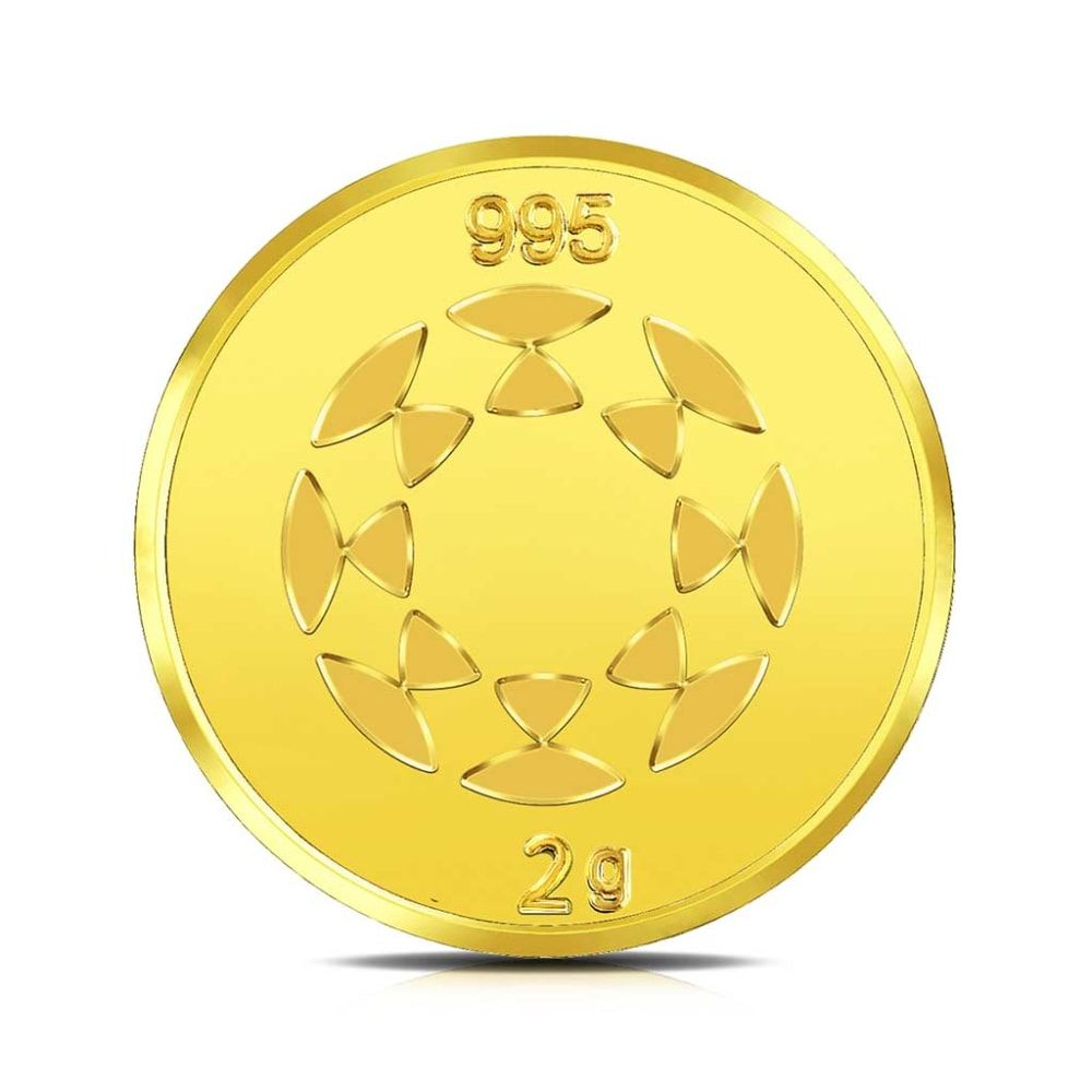 Buy Plain Gold Coins Designs Online Starting at Rs.7078 - Rockrush India