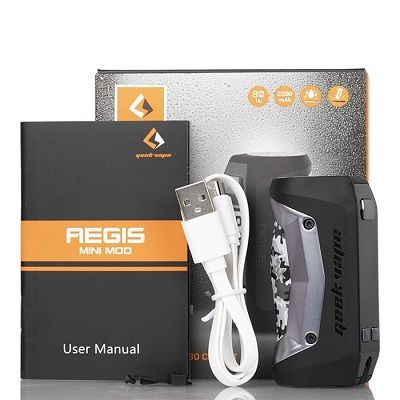 Geek Vape AEGIS MINI 80W TC MOD - Wholesale Vapor Supplies | USA Vape Distributor