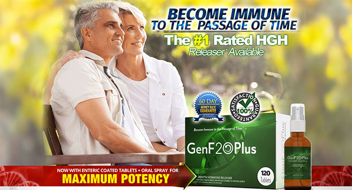 GenF20 Plus #1 RATED HGH RELEASER | Supplement Beauty