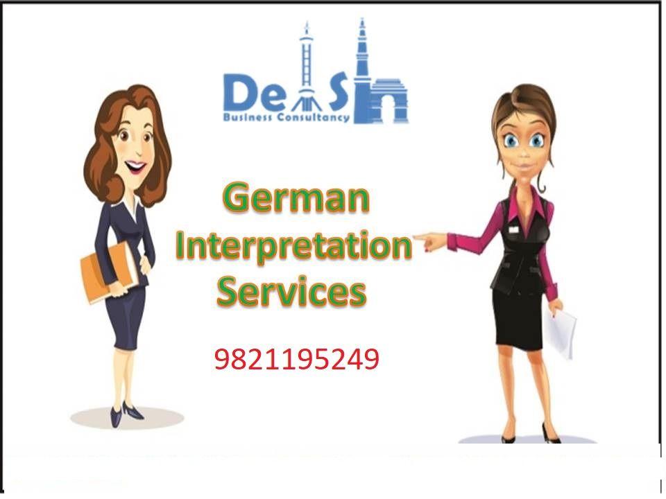 German interpretation Company in Delhi - Call Today 9999933921