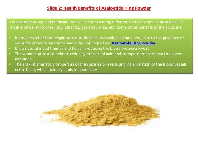 Top Quality Asafoetida Hing Powder