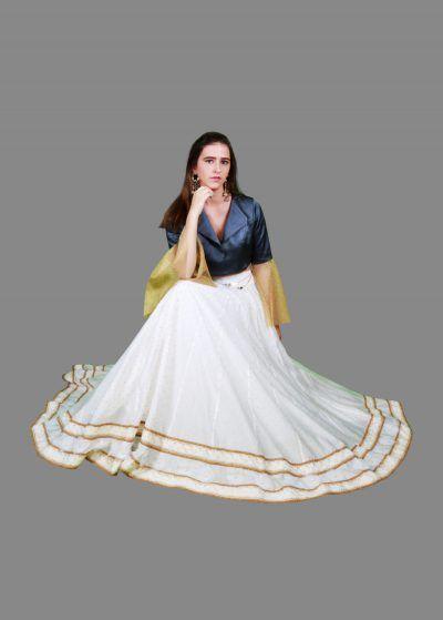 Designer Party wear Lehengas For Women & Crop Tops Online | Bhagyas