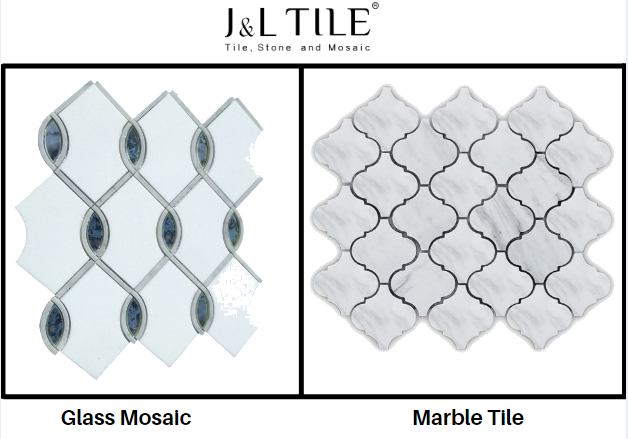 Glass Mosaic or Marble Tile
