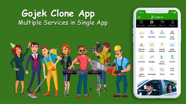 Gojek Clone Script - Multi Featured On Demand App