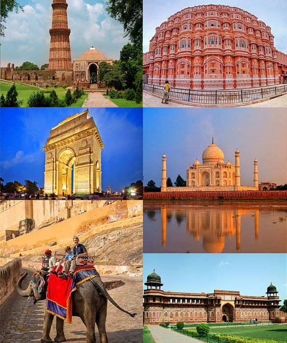 Golden Triangle Budget Tours- Best Cheap Golden Triangle Tour Package, Delhi Agra Jaipur Tour Packages | Padma Holidays