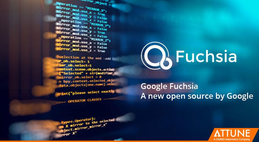 "Google's mysterious new OS ""Fuchsia"""