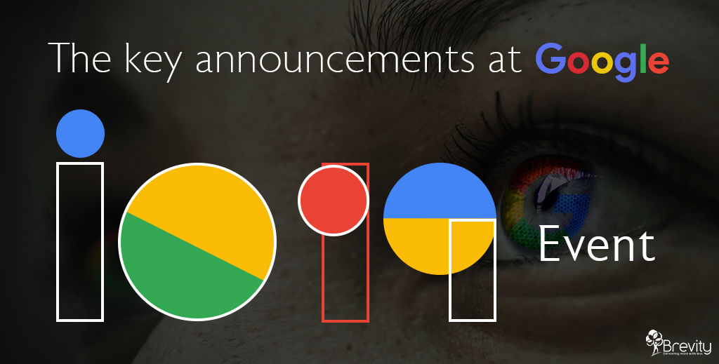 The key announcements at Google I/O 2019 Event   Brevity Software