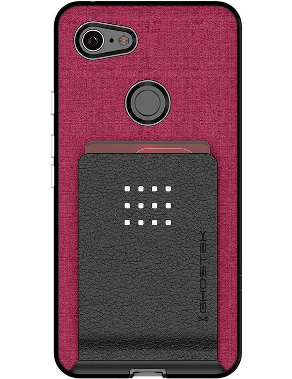 Buy Google Pixel 3 XL Magnetic Leather Card Pocket Wallet Case Online at Ghostek