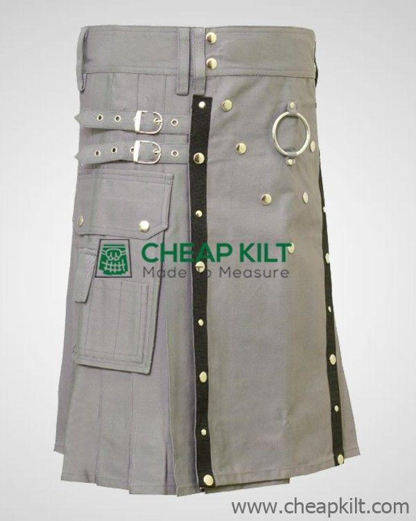 Custom Made Gothic Kilt for Men