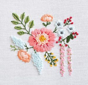 The great thing about embroidery is that there is no limit to your design.