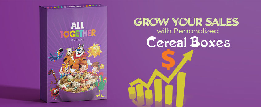 Grow your Sales with Customized Cereal Boxes