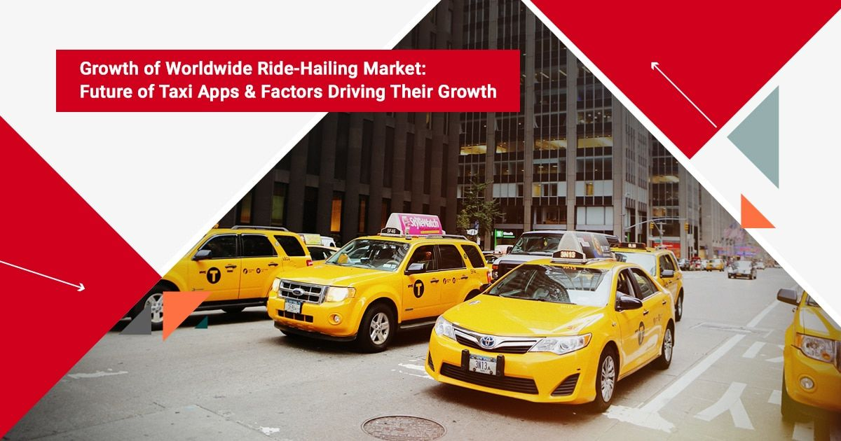 Growth of Worldwide Ride-hailing Market: Future of Taxi Apps & Market