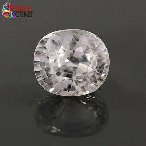 Natural White Zircon Gemstone Online