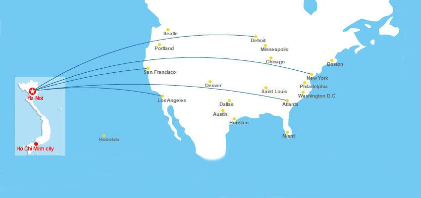 Vé máy bay đi Mỹ giá rẻ khứ hồi bao nhiêu rẻ nhất