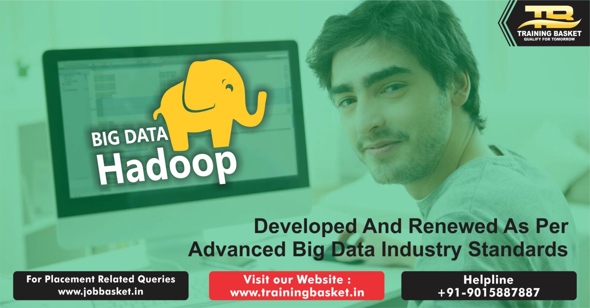 Best hadoop Training in Noida |hadoop course in noida| Training Basket | Show Ad | Advertising Spider