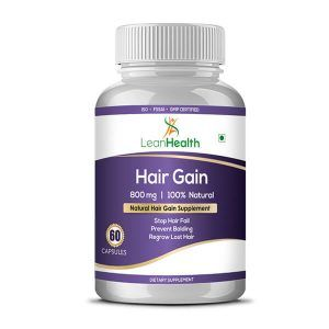 Want Healthy Growth Of Hair? Use Hair Gain Capsules