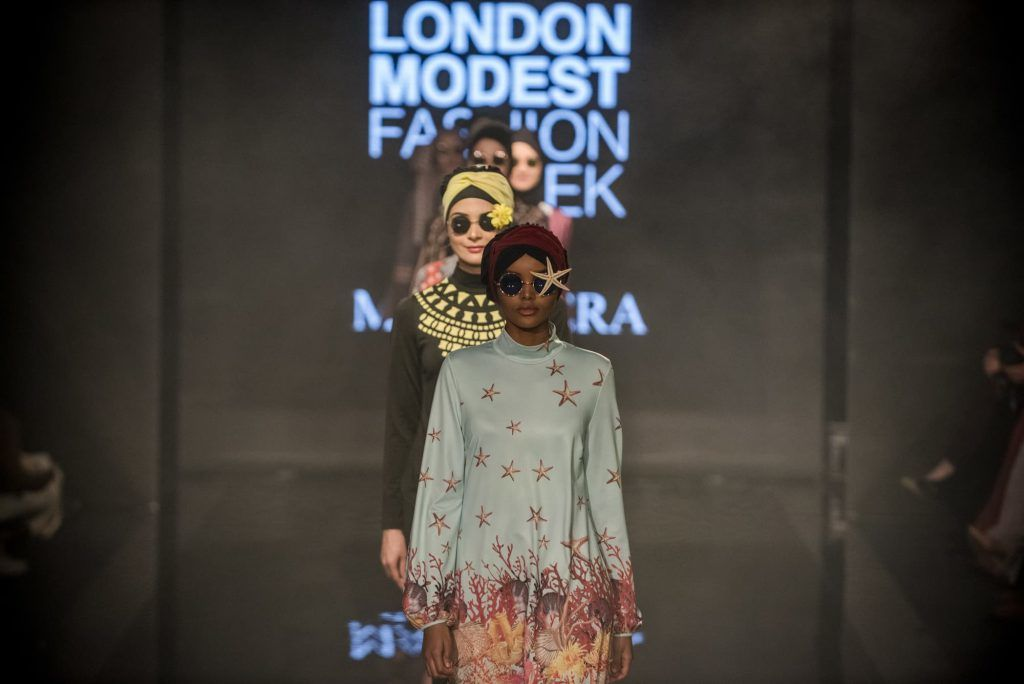 Halima Aden's Collaboration with Modanisa During Istanbul Modest Fashion Week