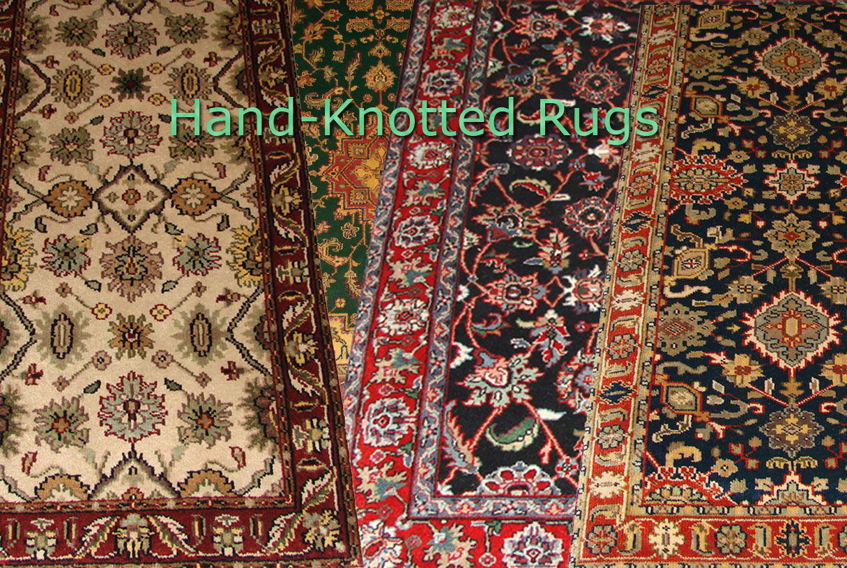 High-Quality Hand Knotted Rugs