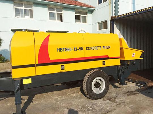 Bomba De Concreto Estacionaria - Aimix Grupo Fabricante Profesional