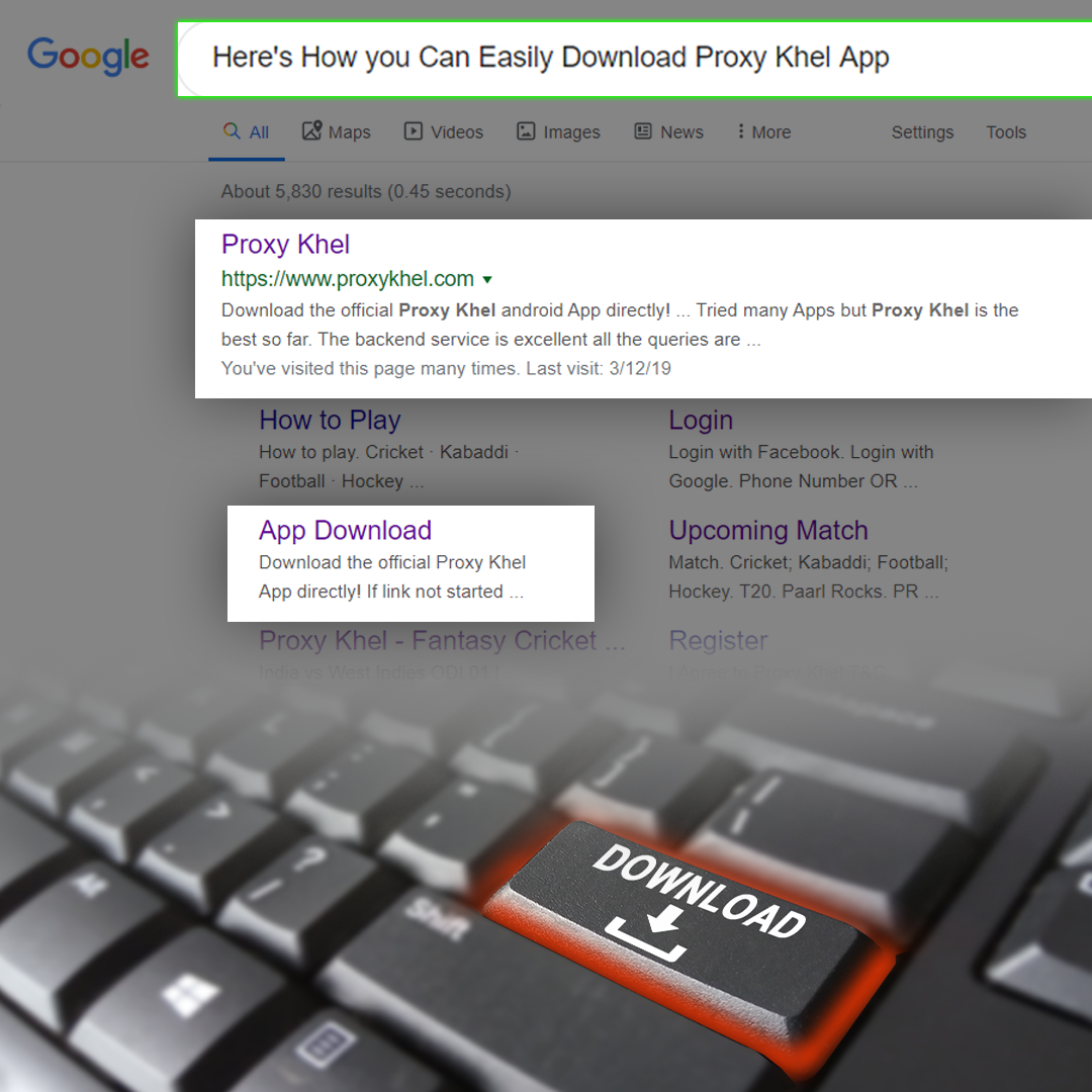 Here's How You Can Easily Download The Proxy Khel App