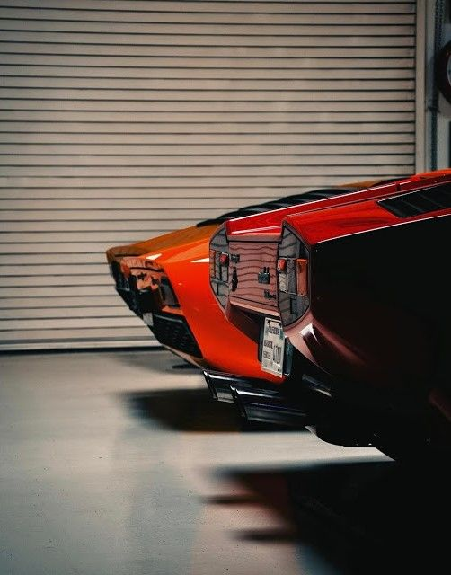 Sports Cars high Curved Tails