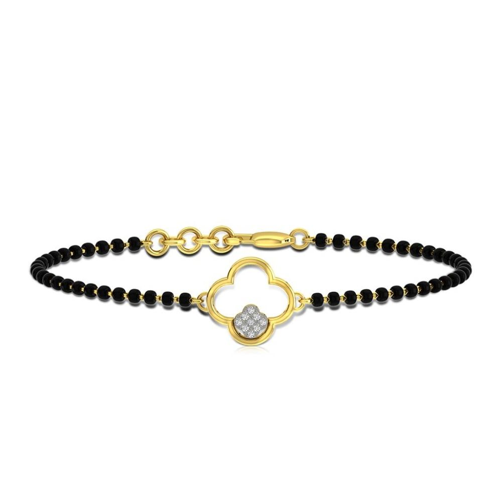 Buy Mangalsutra Bracelets Designs Online Starting at Rs.10789 - Rockrush India