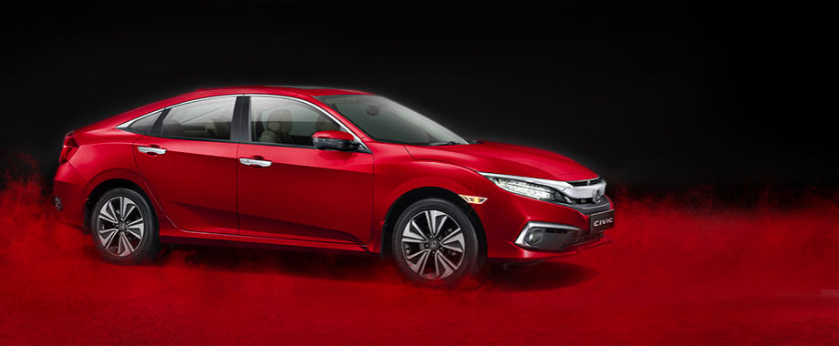 Honda Civic price and specification details from Brigade Honda, Bangalore