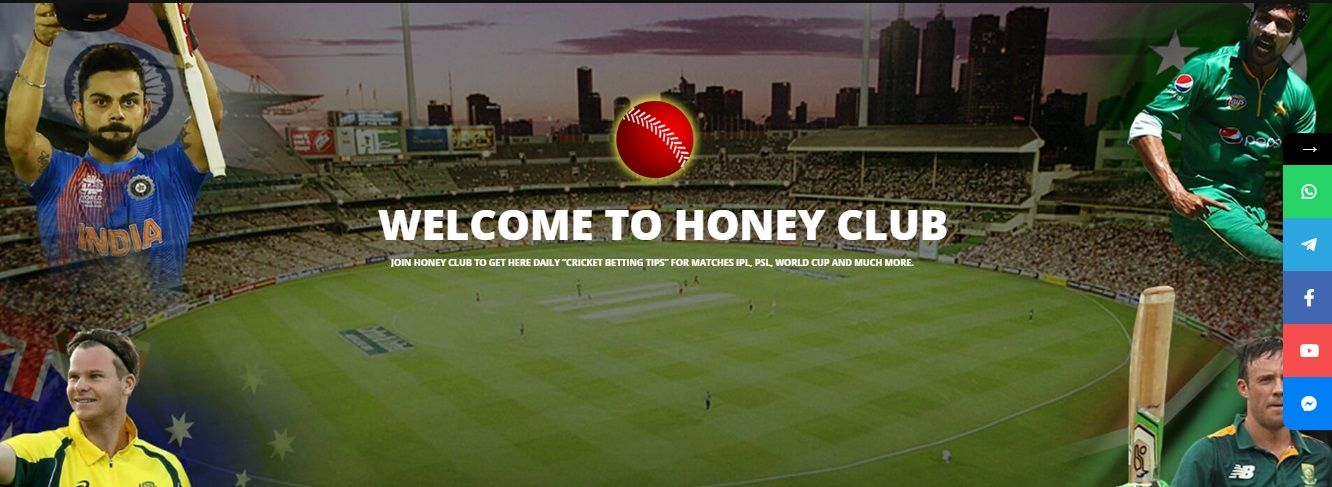 Cricket Match Prediction Tips by Honey Club