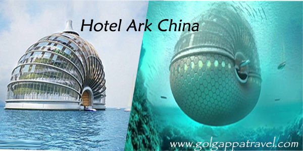 Floating Ark Hotel China | Unique Hotel in World