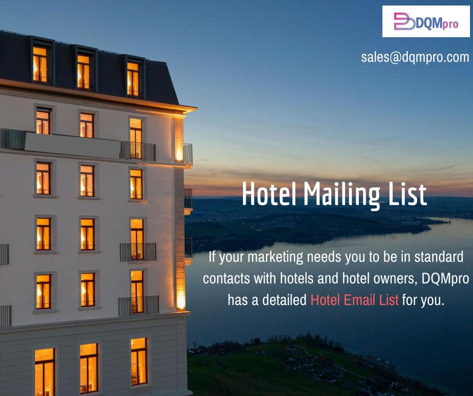 Hotel Mailing List