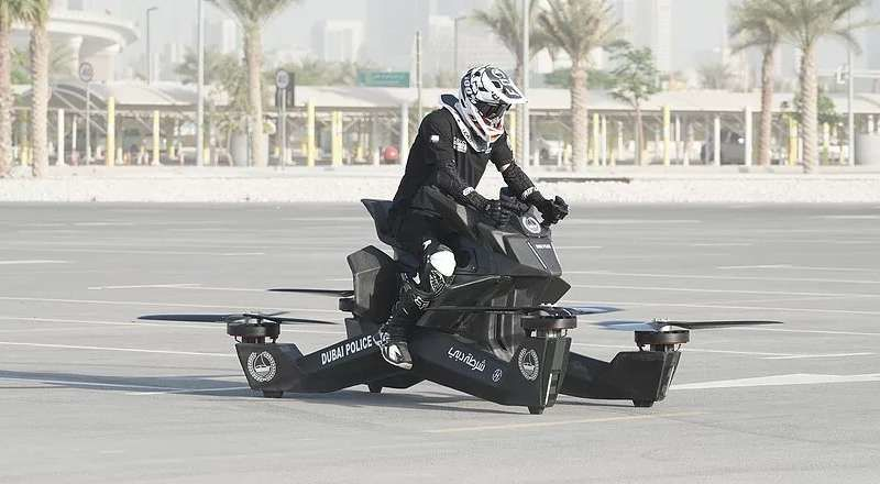 After Flying motorbike, hoverbike has been introduced
